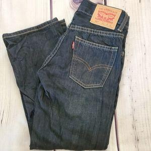 Boy's Levi's 505 Size 8R/24X22 Blue Jeans/…
